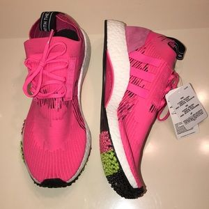 "Adidas NMD Racer Primeknit ""Solar Pink"" Size 9.5"